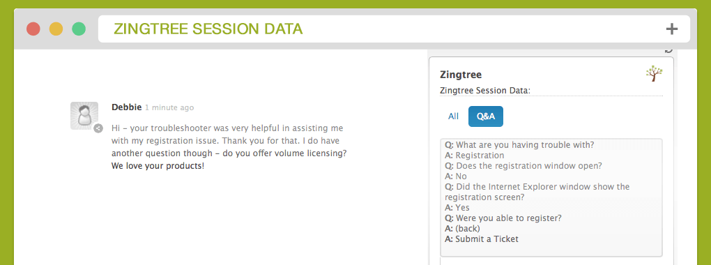 create interactive decision trees with zingtree